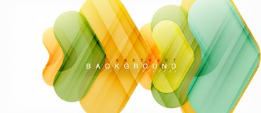 Free Colorful Glossy Arrows Abstract Background Stock Images - 129551444