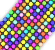 Colorful glossy balls Stock Photography