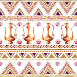 Colorful gold-purple handpainted backdrop. Stock Images