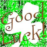 Colorful Good luck background Royalty Free Stock Image