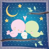 Good night and sweet dreams illustration vector design. Colorful good night and sweet dreams illustration vector design Royalty Free Stock Images