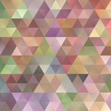 Gradient abstract triangular polygon background template design. Colorful gradient abstract triangular polygon background template design stock illustration