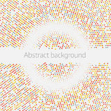 Colorful Gradient Background. Doted background. Royalty Free Stock Photo