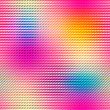 Colorful gradient cells background in bright rainbow colors. Abstract blurred image. Royalty Free Stock Image