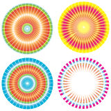 Colorful gradient Circles Stock Photography