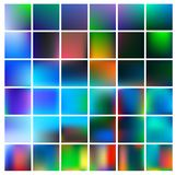 Colorful gradient mesh background in bright rainbow colors. Abstract blurred smooth image. Royalty Free Stock Photography