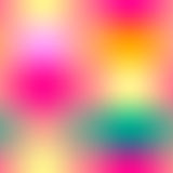 Colorful gradient mesh seamless pattern in bright rainbow colors. Abstract blurred image. royalty free illustration