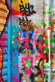 Colorful graffiti Royalty Free Stock Photo