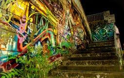 Colorful graffiti. In Timisoara, Romania Stock Photography