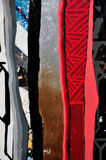 Colorful graffiti wall Royalty Free Stock Photos