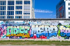 Colorful Graffity in Berlin Stock Photography