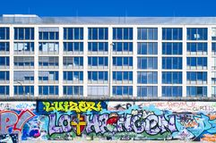 Colorful Graffity in Berlin Stock Images