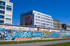 Colorful Graffity in Berlin 2015 Royalty Free Stock Photos