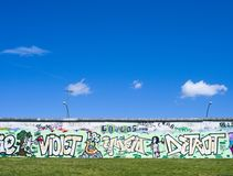 Colorful Graffity in Berlin 2015 Royalty Free Stock Photography