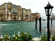 Colorful Grand Canal Stock Images