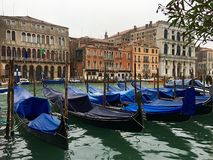 Colorful Grand Canal Royalty Free Stock Images