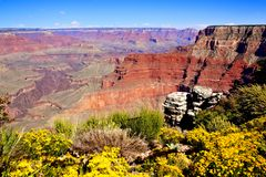 Colorful Grand Canyon Royalty Free Stock Photo