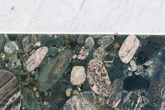 Colorful granite and marble slabs Royalty Free Stock Photography