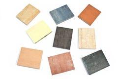 Colorful granite texture samples Royalty Free Stock Image