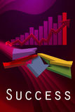 Colorful Graph Design image Royalty Free Stock Photography