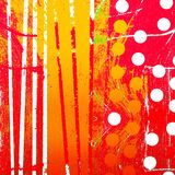 Colorful graphic design stripes Royalty Free Stock Photo