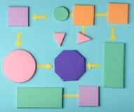 Colorful graphic organizer template