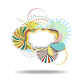 Colorful graphic pattern Stock Photo