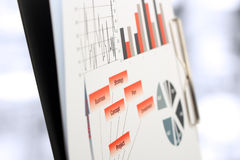 Colorful graphs, charts, marketing research and business annual report background, management project, budget planning, financial stock photos