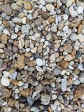 Colorful gravel closeup stock photo