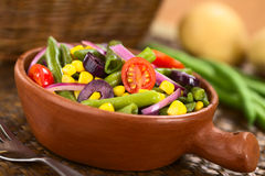 Colorful Green Bean Salad Stock Images
