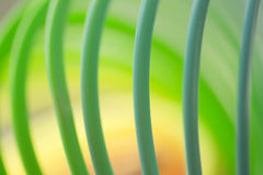 Colorful green color circular art swirl abstract Stock Photography