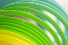 Colorful green color circular art swirl abstract Royalty Free Stock Photo