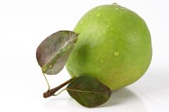 Colorful green pear Stock Photography