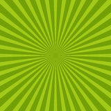 Colorful green ray sunburst style abstract background Stock Photo