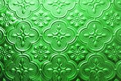 Colorful green seamless texture. Glass background. Interior wall decoration 3D wall pattern abstract floral glass shapes. Colorful green seamless texture stock photos