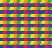 Colorful Grid Pattern. Colorful stripes optical illusion pattern Stock Photos