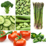 Colorful groceries background Stock Images