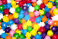 Colorful gromertic abstract background Stock Photo
