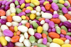 Colorful group of sweet confetti stock photos