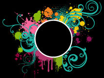 Colorful grunge background Stock Photography