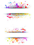 Colorful grunge backgrounds. Stock Photography