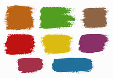 Colorful Grunge Backgrounds Stock Photo