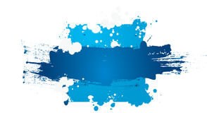 Colorful grunge banner. With space for text . You can use it for your business designs Royalty Free Stock Photo