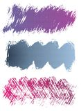 Colorful Grunge Banners Royalty Free Stock Photography