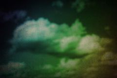 Colorful grunge cloud texture Stock Image