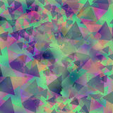 Colorful grunge geometric chaotic background for web and print u Royalty Free Stock Photography