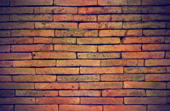 Colorful grunge old brick wall background Stock Photography