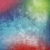 Colorful grunge paint wall background or texture Royalty Free Stock Images
