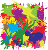 Colorful grunge painting Royalty Free Stock Photography