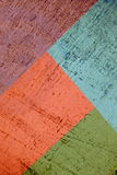 Colorful  Grunge Paper Collage Royalty Free Stock Image